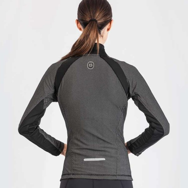 Grips Athletics Women's Chill Out Tracktop back of jacket view.  Comfortable Women's tracktop jackets.  www.thejiujitsushop.com
