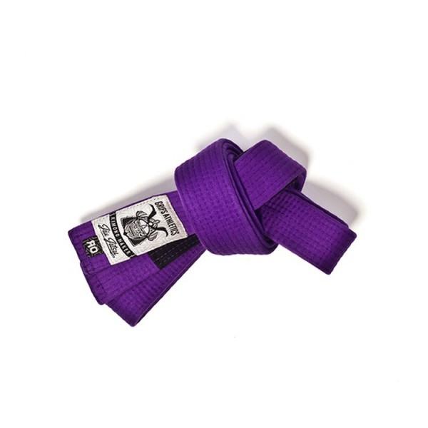 Grips Athletics Purple Jiu Jitsu Belt @ www.thejiujitsushop.com.  Super soft and durable belt that you will love and be proud of.
