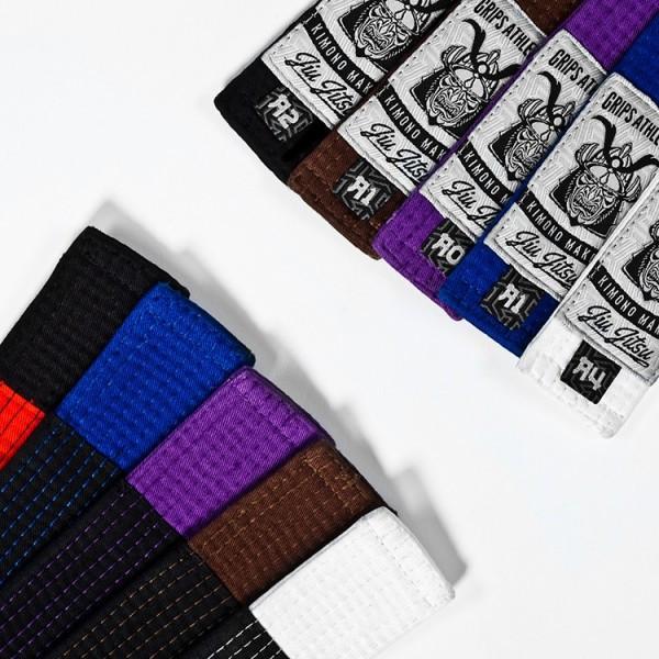 Grips Athletics Jiu Jitsu Belts @ www.thejiujitsushop.com.  Super soft and durable belt that you will love and be proud of.
