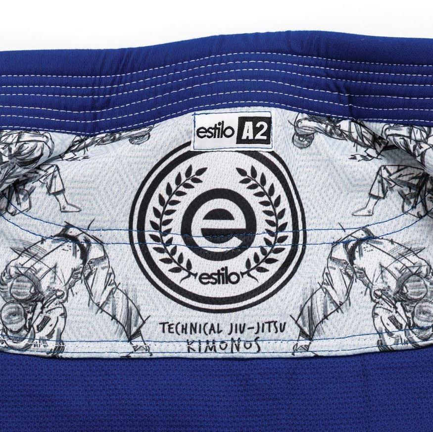 blue Tatami Estilo 5.0 Ladies BJJ Gi @ www.thejiujitsushop.com Inner rashguard lining