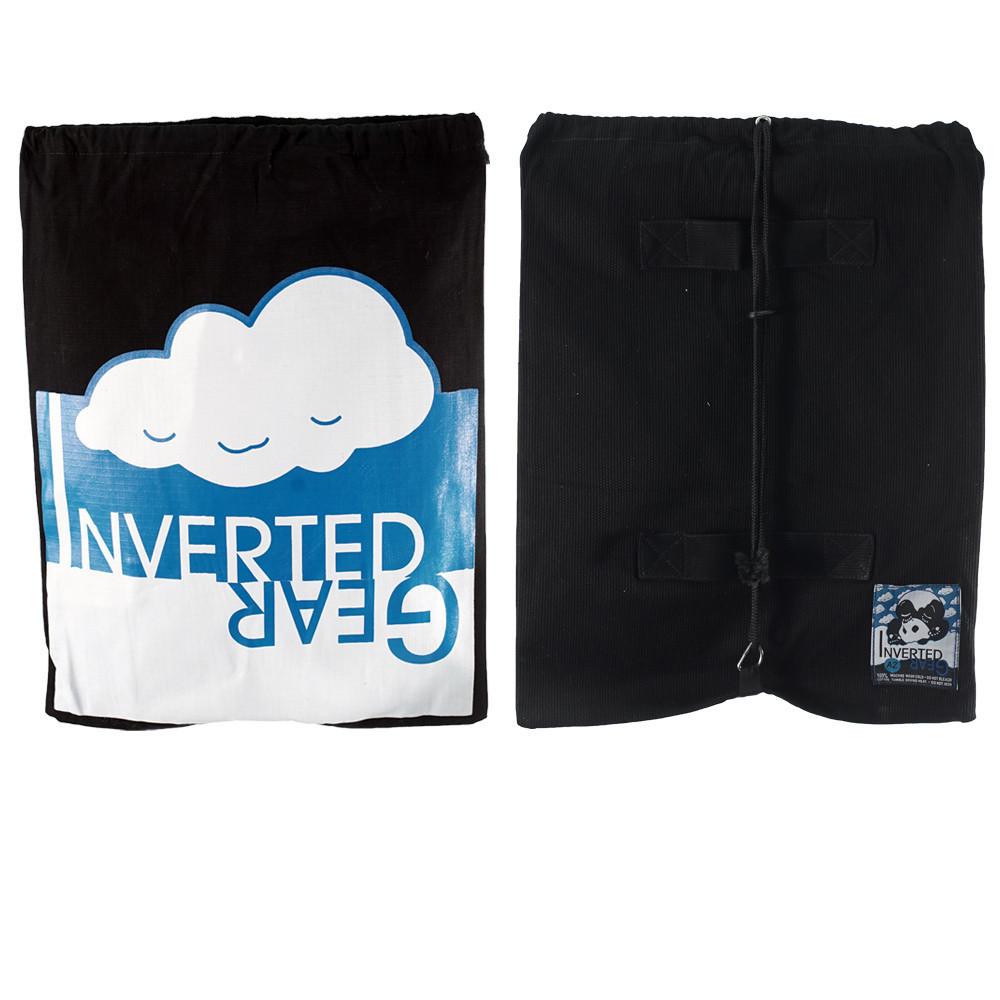 Inverted Gear Black Light Pearl Weave Gi Skies with teal - The Jiu Jitsu Shop @ http://www.thejiujitsushop.com  Custom Gi bag
