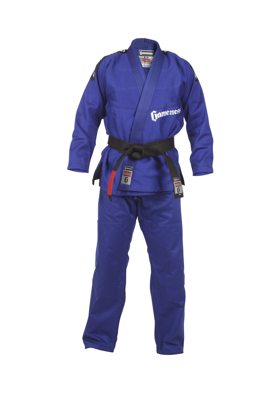 2015 Gameness Pearl Gi Blue Jiu Jitsu kimono @ The Jiu Jitsu Shop www.thejiujitsushop.com  New for 2015 Blue gameness pearl gi @ the jiu jitsu shop.