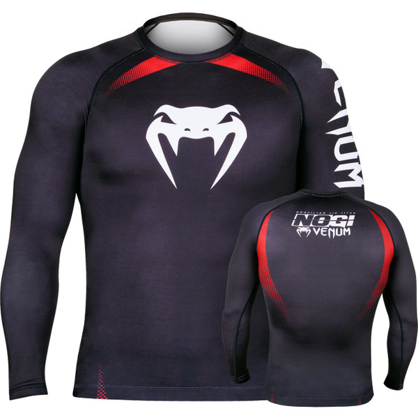 Venum No Gi Ranked Rashguard Black Belt Long Sleeve Rashguard.  The Jiu Jitsu Shop.  www.thejiujitsushop.com   Enjoy free shipping storewide
