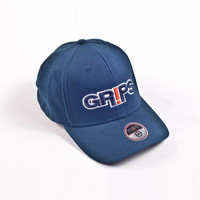 Navy Grips Athletics' Flex Fit Cap, featured in 3 colors on www.thejiujitsushop.com