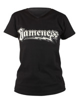 Gameness Female T-Shirt Logo in Black available at www.thejiujitsushop.com   Enjoy Free Shipping from The Jiu Jitsu Shop