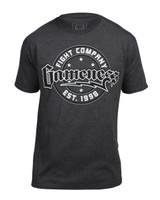 Gameness Circle Logo Men's T-shirt - Grey available at www.thejiujitsushop.com   Enjoy Free Shipping from The Jiu Jitsu Shop today!