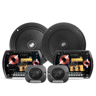 "DB Drive E6 - Two way 6.5"" Car Audio Component Speaker Set."