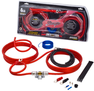 Stinger SK4241 - 4AWG Car Audio Cable Kit.