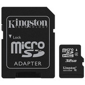 32GB KINGSTON MICROSD MEMORY CARD, CLASS 10