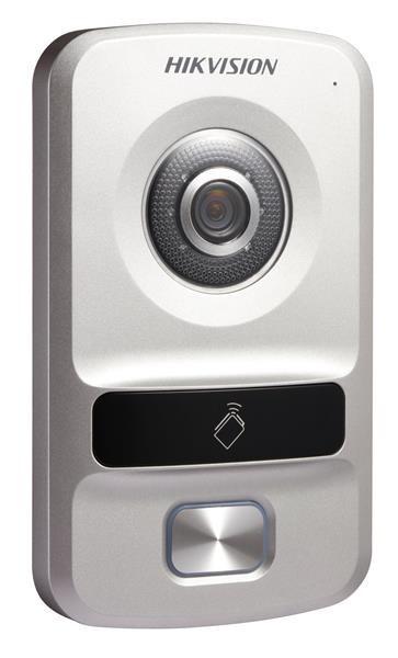 IP Video intercom door station camera Hikvision DS-KV8102-IP, one access  number, 1 3 megapixel, night vision, alarm, RFID