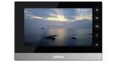 IP Video intercom door entry monitor Dahua VTH1510CH,  HD live view, touch sensitive 7 inch screen