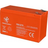 Security system battery POWER BUBBLE 7Ah 12V AP7/12