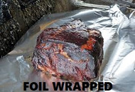 Pork Butt (foil wrapped)