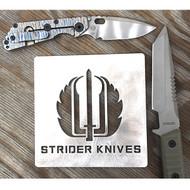 Strider Logo'd Sign