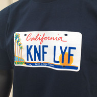 Knife Life License Plate T
