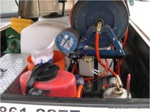 pest control spray equipment problem
