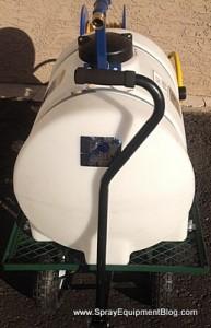 35 Gallon 12 Volt Electric Cart Sprayer Pest Control