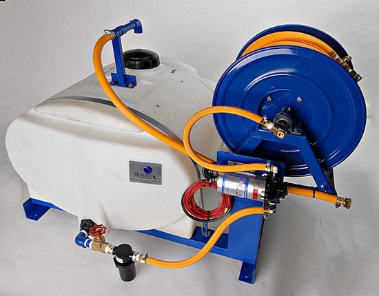 50 gallon pest control spray rig