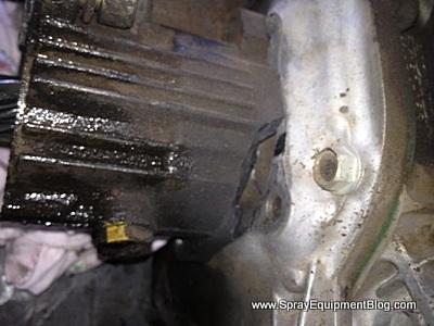 hypro d30 diaphragm pump damage gear box