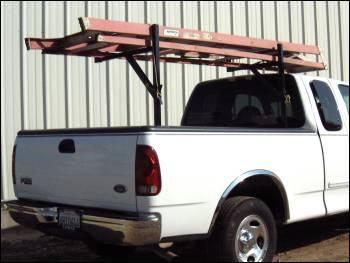 pest control ladder rack