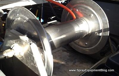pest control sprayer hose reel problem