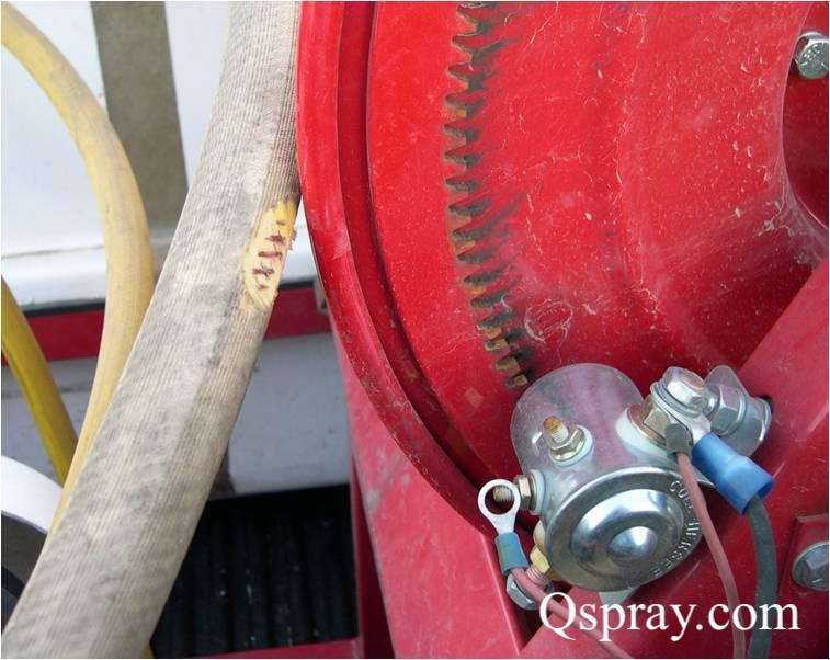 weed control spray rig