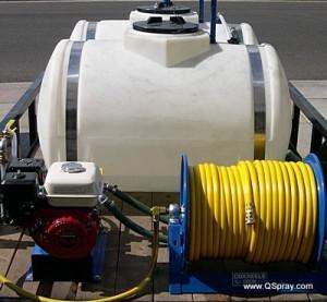 power sprayer dual tank single pump