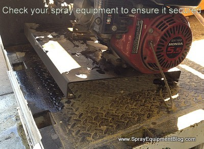 spray equipment safety