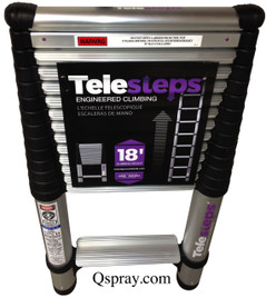 Telesteps 1800EP Telescoping Ladder