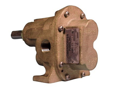 Oberdorfer N9000 Bronze Gear Pump 1""
