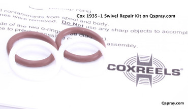 "Cox 1935-1 Hose Reel Swivel Repair Kit (3/8"")"