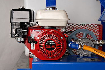 100 Gallon Component Mount Gas Power Sprayer - Gear Pump