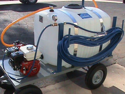 100 Gallon Tree Nursery Spray Cart