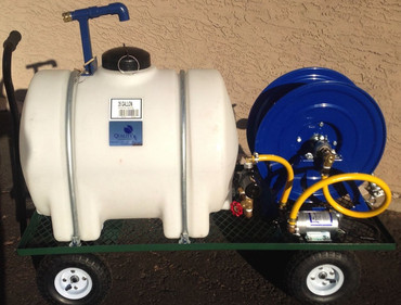 35 Gallon 12-Volt Spray Cart