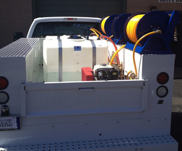 Dual 100 Gallon Tanks - Utility Bed