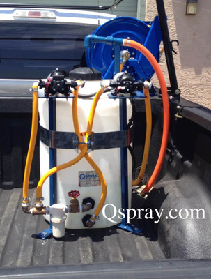 25 Gallon Space Saving Sprayer