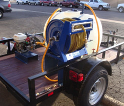 Deep Root Fertilizer Spray Rig / Weed Control Spray Trailer