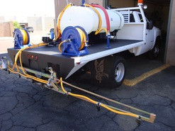 300 Gallon Weed Spray Truck with Folding Boom