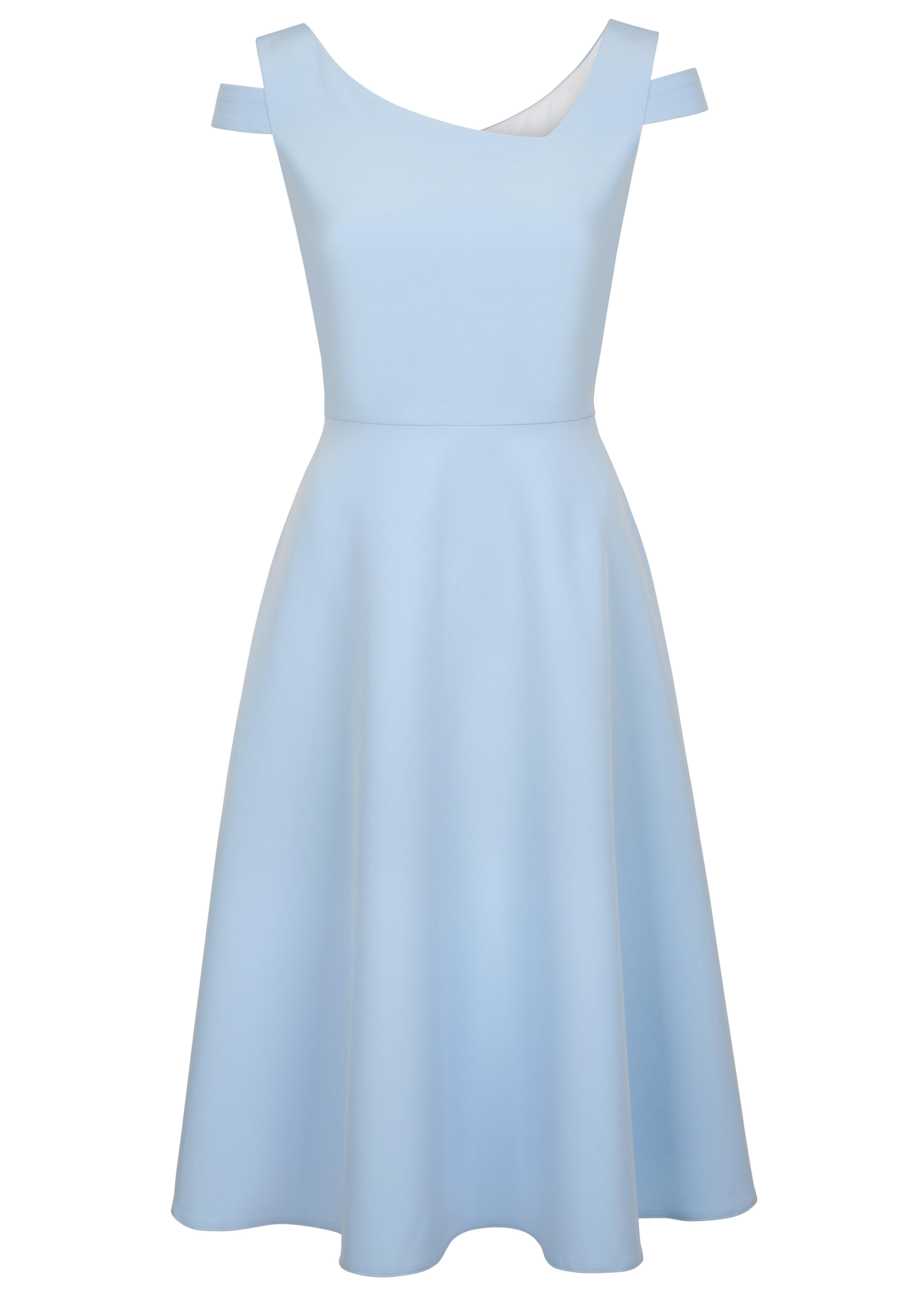 Fee G asymmetrical Neck Dress