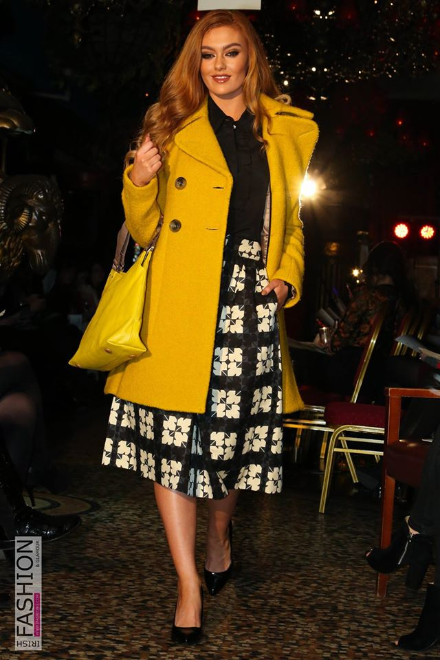 Orla Kiely Winter Coat and Outfit