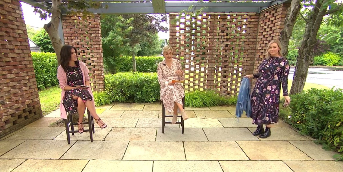 Barbara Stack presents transitional fashion looks from Anastasia Boutique on Ireland Am