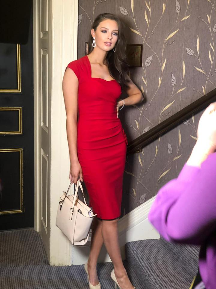 Stop Staring Red Dress