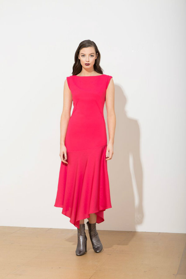 Caroline Kilkenny Jo Dress Pink