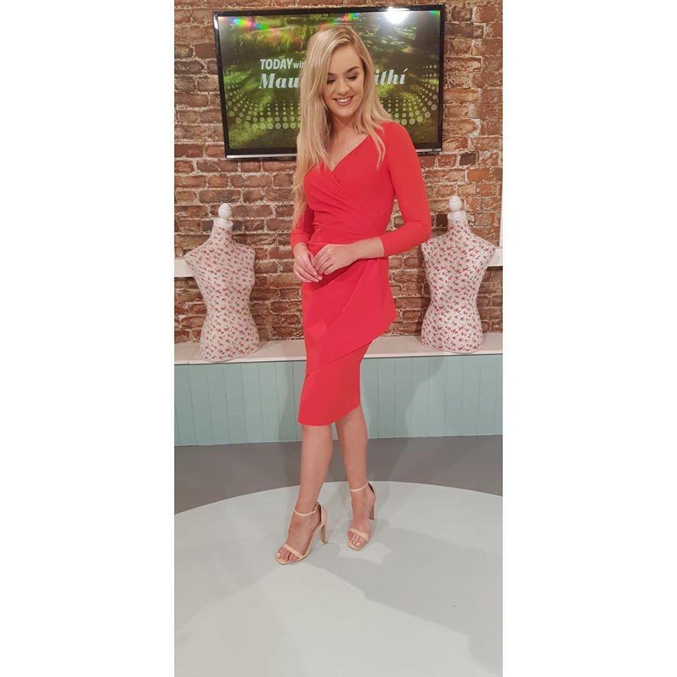 Chiara Boni La Petite Robe Red Dress