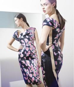 Caroline Kilkenny Orion Pink Floral Dress