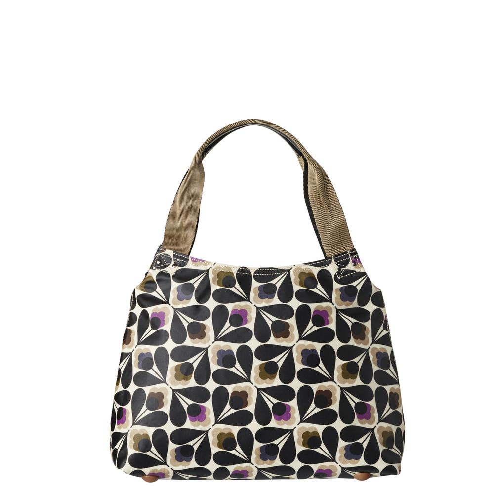 a2daffa21 Orla Kiely Classic Zip Shoulder Bag Sycamore Seed print