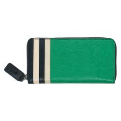Orla Kiely Big Zip Wallet Jade