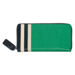 Orla Kiely Big Zip Wallet Jade
