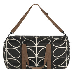 Orla Kiely Packaway Kit bag Balck