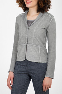 Transit Par Such Knitted Jacket Grey